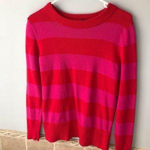 Pink stripes GAP sweater
